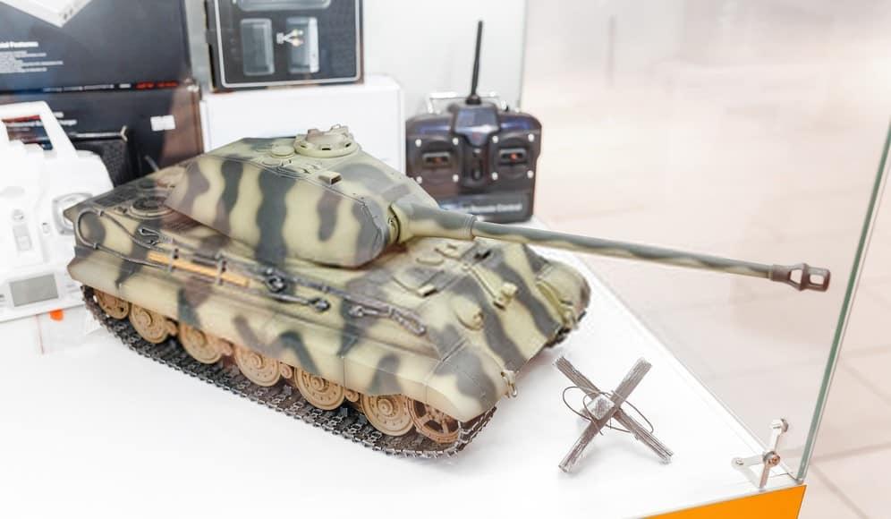 RC Military Tank