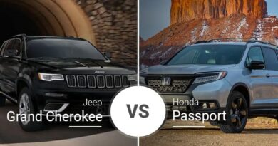 Honda Passport vs Jeep Grand Cherokee