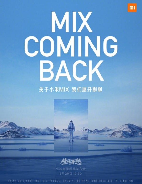 Mix is coming back