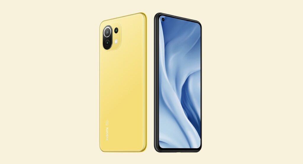 Xiaomi Mi 11 Lite main and back