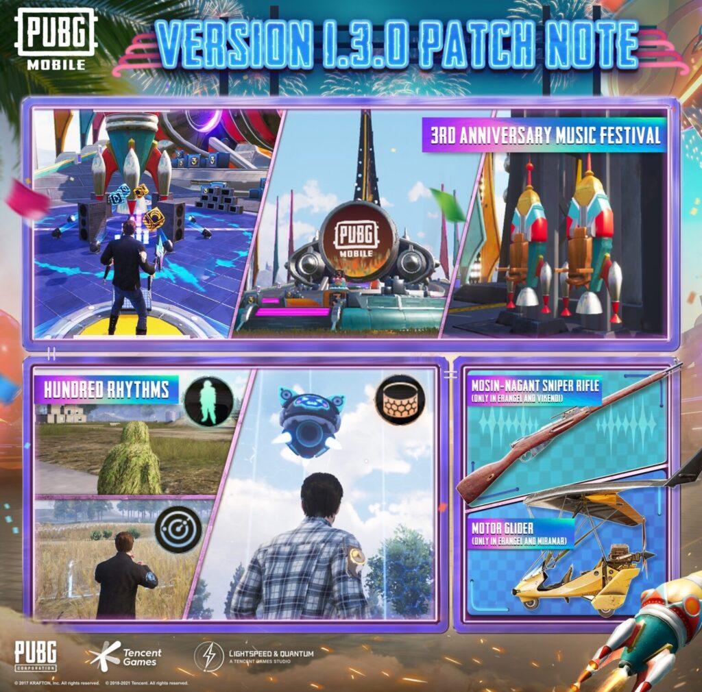 pubg version 1.3.0