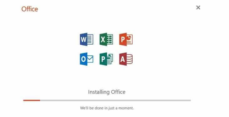 installing office