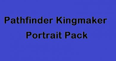 pathfinder kingmaker portrait pack