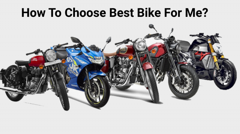How to choose best bike for me