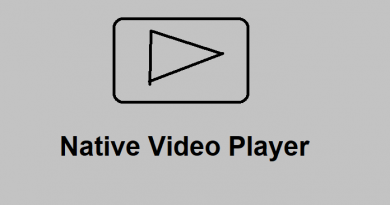 Native Video Player