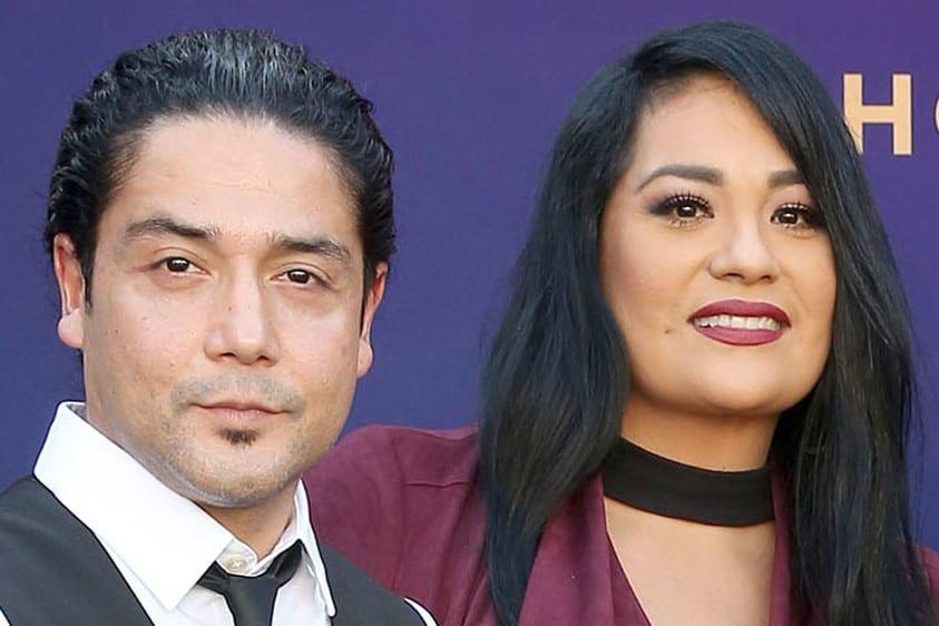 Vanessa Villanueva and Chris Perez
